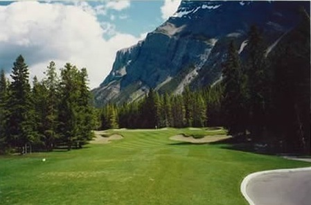 Banff springs hotel golf course stanley thompson society banff springs fairway malvernweather Gallery